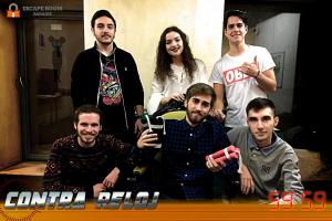 Escape Room Badajoz Equipo majete