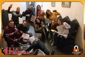 equipo-  cadaver-escape-room-Badajoz-LaHerencia