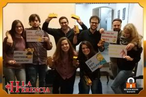 equipo- swing-escape-room-Badajoz-LaHerencia