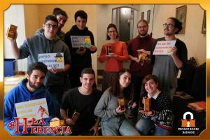 equipo-gruponumeroso  -escape-room-Badajoz-LaHerencia